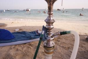 Shisha by the sea
